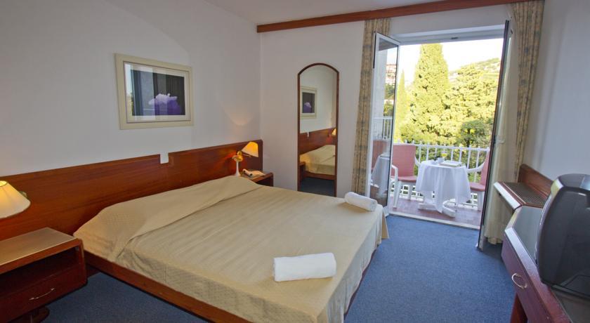 Tweepersoonskamer van Hotel Komodor in Dubrovnik