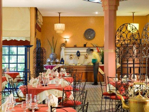 Restaurant van Hotel Ibis in Fez
