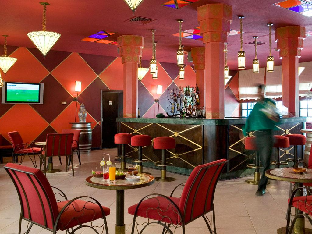 Bar van Hotel Ibis in Fez