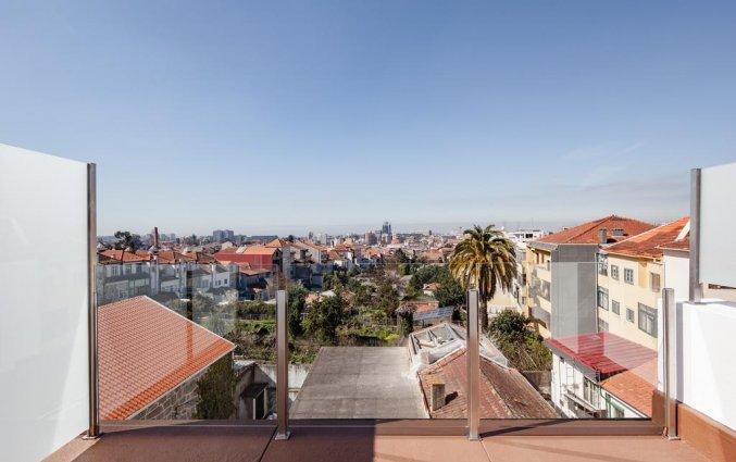 Uitzicht vanaf Hotel Rex in Porto