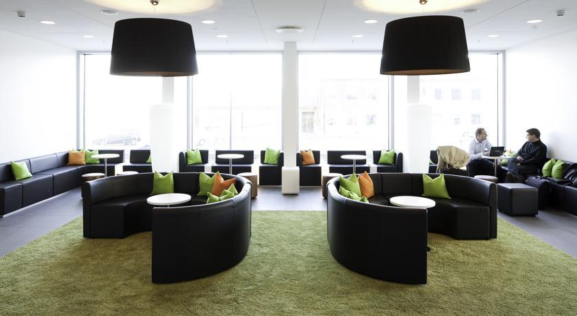 Lounge van Hotel Wakeup Copenhagen Kopenhagen