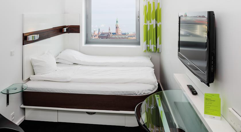 Tweepersoonskamer van Hotel Wakeup Copenhagen Kopenhagen