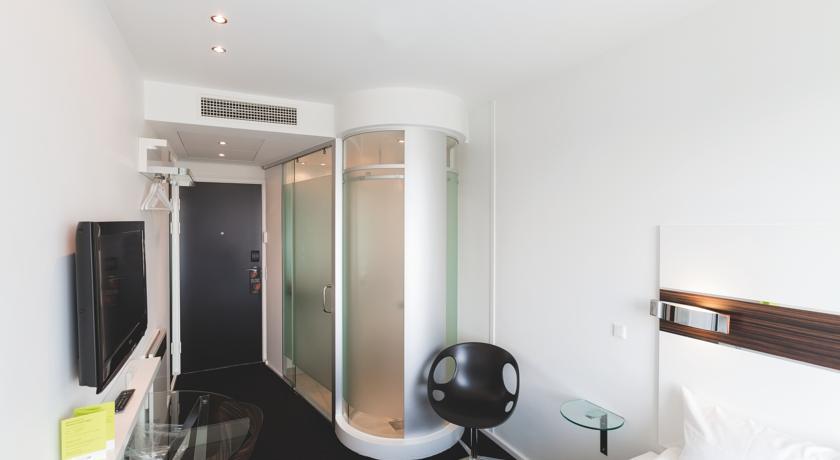 Kamer met badkamer van Hotel Wakeup Copenhagen Kopenhagen