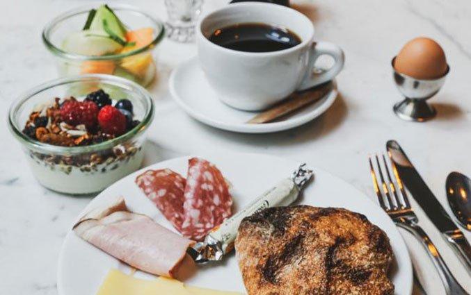 Ontbijt van hotel Coco