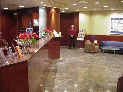 Lobby van Hotel Amrey Sant Pau in Barcelona