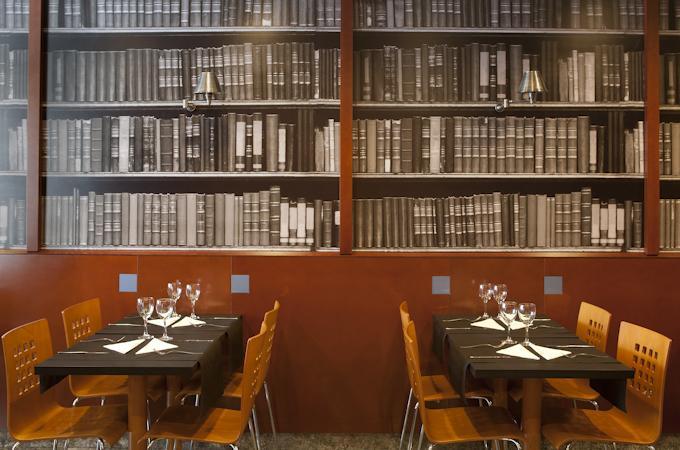 Restaurant van Hotel Amrey Sant Pau in Barcelona