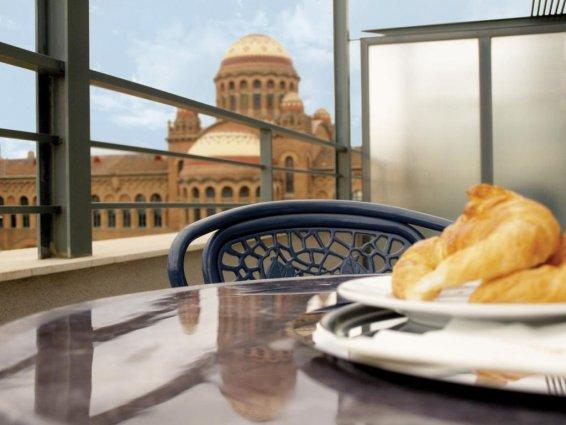 Ontbijt van Hotel Amrey Sant Pau in Barcelona