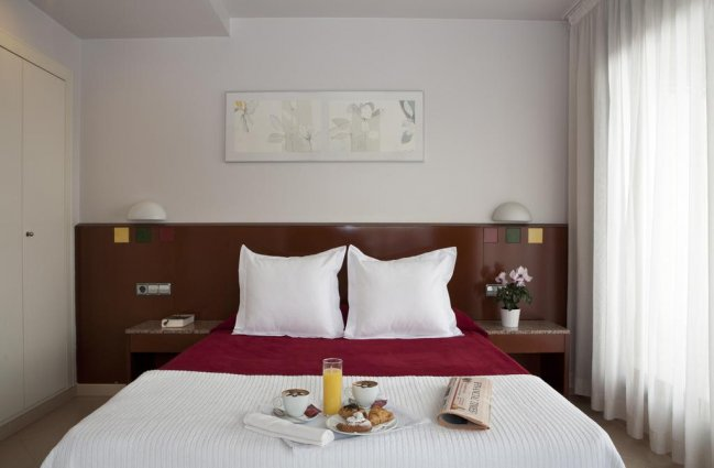 Tweepersoonskamer van Hotel Amrey Sant Pau in Barcelona
