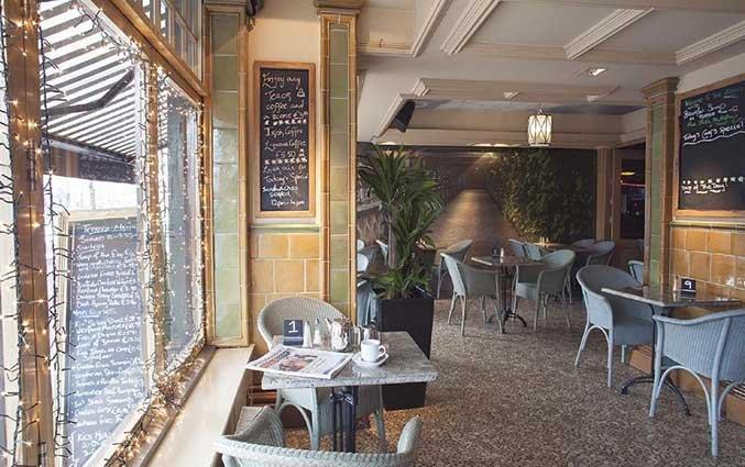 Restaurant van hotel Arlington O'Connell Bridge in Dublin