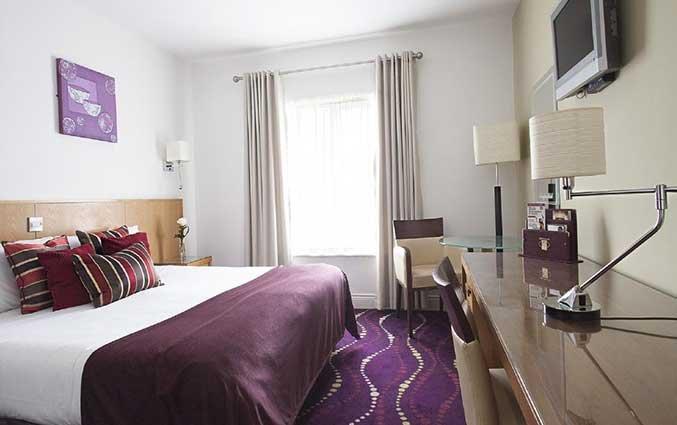 Tweepersoonskamer van hotel Arlington O'Connell Bridge in Dublin