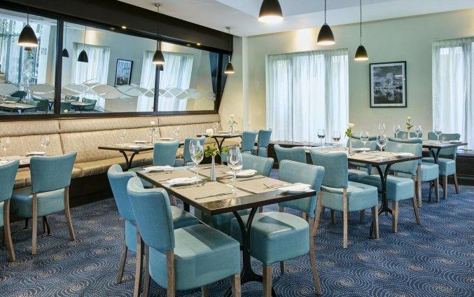 Restaurant van hotel Garden Inn Dublin Custom House in Dublin