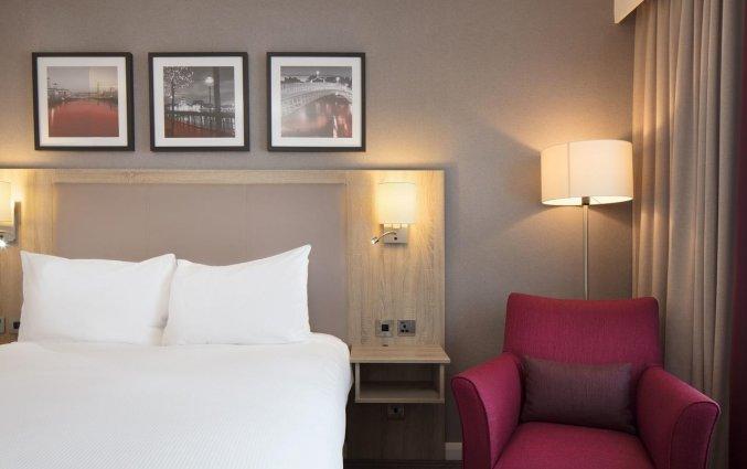 Tweepersoonskamer van hotel Garden Inn Dublin Custom House in Dublin