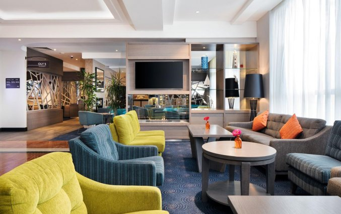 Lounge van hotel Garden Inn Dublin Custom House in Dublin