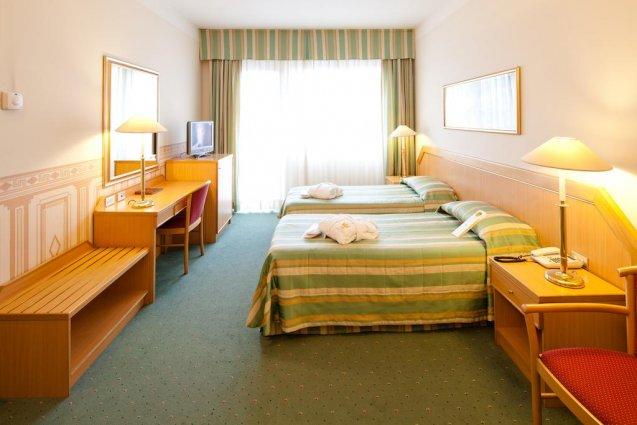 Een dubbele kamer van Hotel Qualys Nasco Milaan