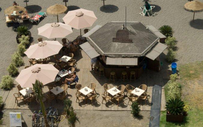 De bar van hotel Rincon Sol aan de Costa del Sol