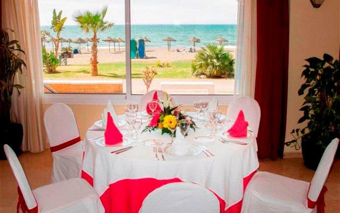 Restaurant van hotel Rincon Sol aan de Costa del Sol