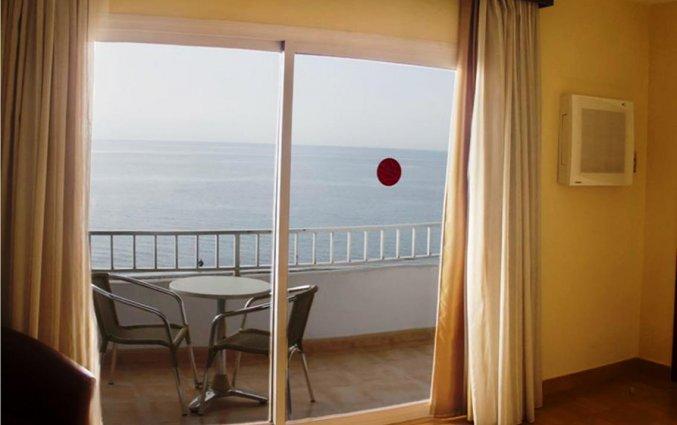 Uitzicht vanaf kamer van hotel Rincon Sol aan de Costa del Sol