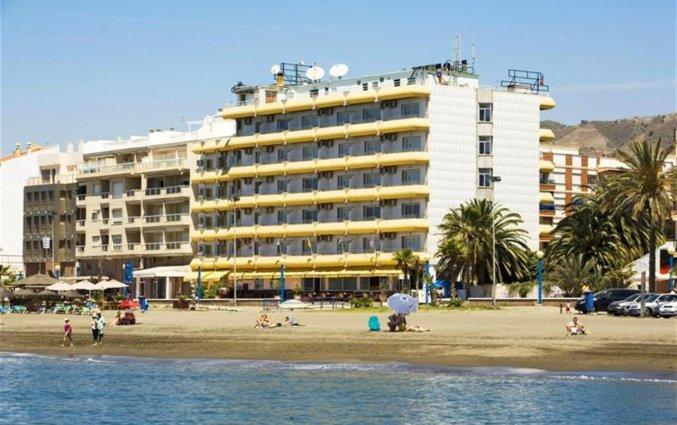 Buitenaanzicht van hotel Rincon Sol aan de Costa del Sol