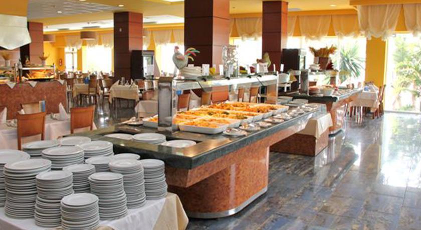 Ontbijtbuffet van Hotel Best Benalmadena