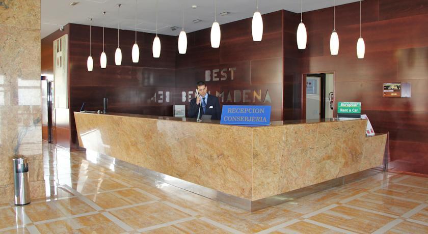 Lobby van Hotel Best Benalmadena
