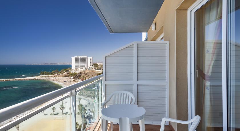 Balkon van Hotel Best Benalmadena