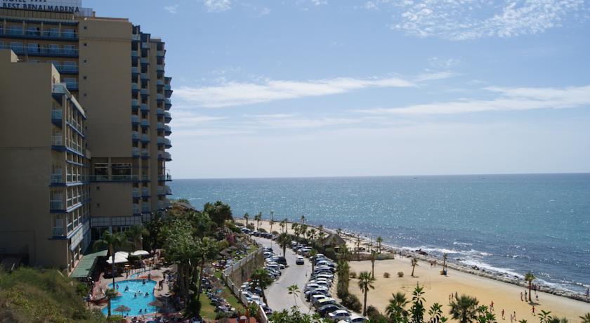 Uitzicht van Hotel Best Benalmadena