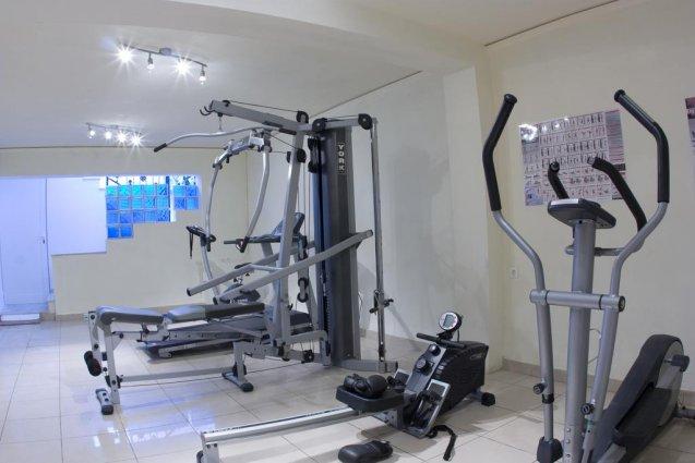Sportruimte van appartementen Furtura vakantie Kreta