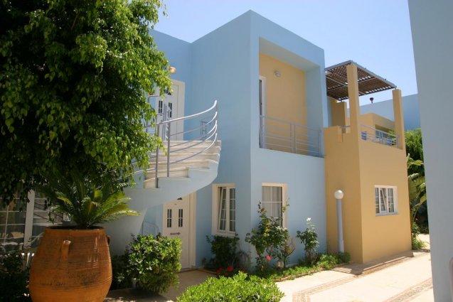 Buitenkant van appartementen Furtura vakantie Kreta