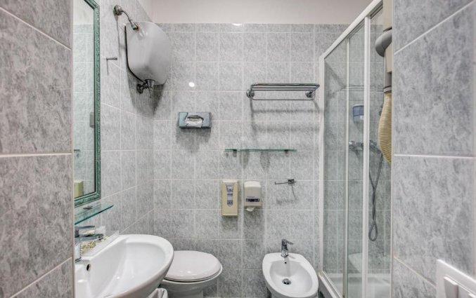 Badkamer van een tweepersoonskamer van Hotel Parker in Rome