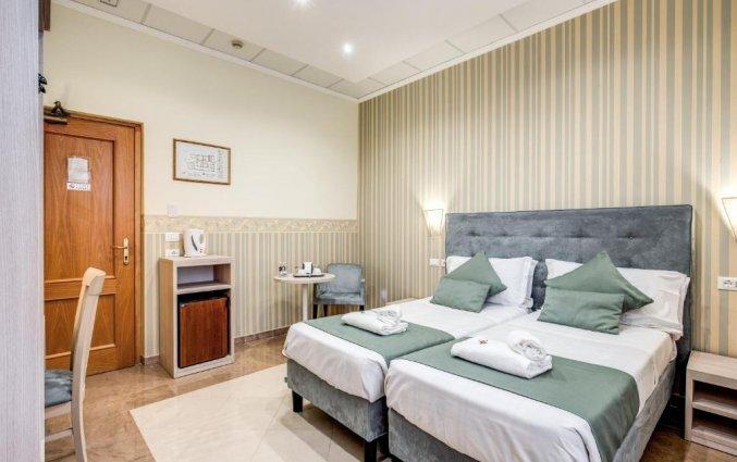 Tweepersoonskamer van Hotel Parker in Rome