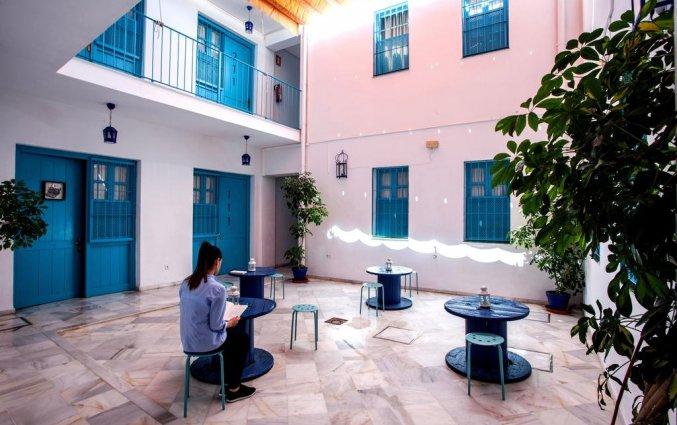 Terras van Hotel Casual Sevilla de Las Letras in Sevilla