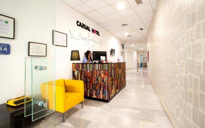 Lobby van Hotel Casual Sevilla de Las Letras in Sevilla