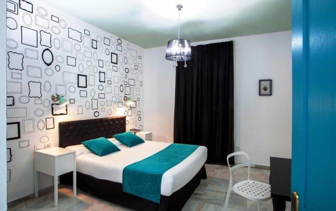 Tweepersoonskamer van Hotel Casual Sevilla de Las Letras in Sevilla
