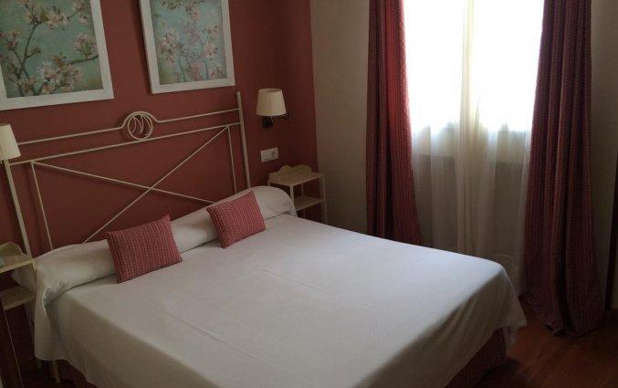 Tweepersoonskamer van Hotel Murillo in Sevilla