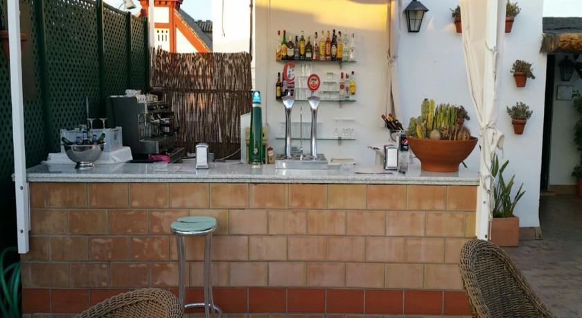 Receptie van Hotel Murillo in Sevilla