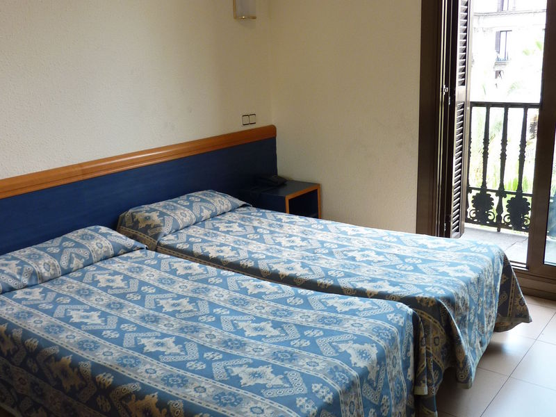 tweepersoonskamer van Hotel Roma Reial Barcelona