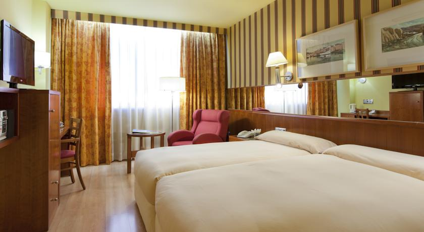 Tweepersoonskamer van Hotel Senator Spa in Barcelona
