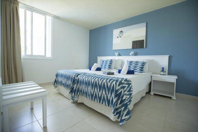 Slaapkamer van een appartement van Appartementen Playa del Sol op Gran Canaria