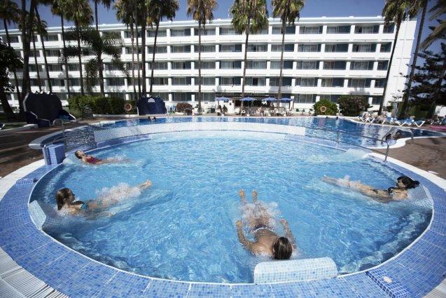 Jacuzzi van Appartementen Playa del Sol op Gran Canaria