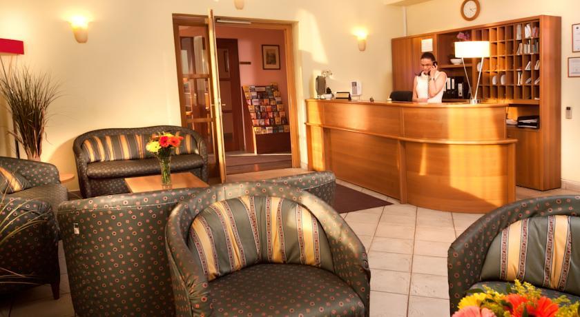 Receptie van Hotel Residence Select Praag