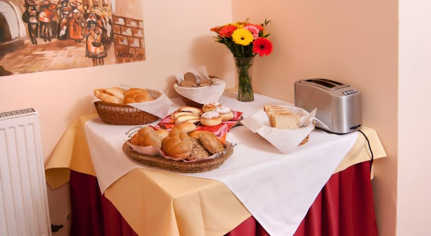 Ontbijtbuffet van Hotel Residence Select Praag