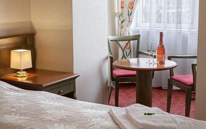 Tweepersoonskamer van Hotel Augustus et Otto in Praag