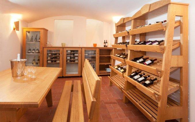 Wijnkelder van Hotel Augustus et Otto in Praag