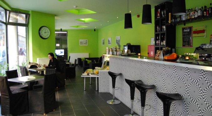 Bar van Aparthotel Agape in Budapest