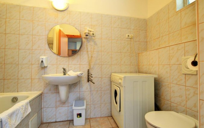 Badkamer van een appartement of studio van Aparthotel Agape in Budapest