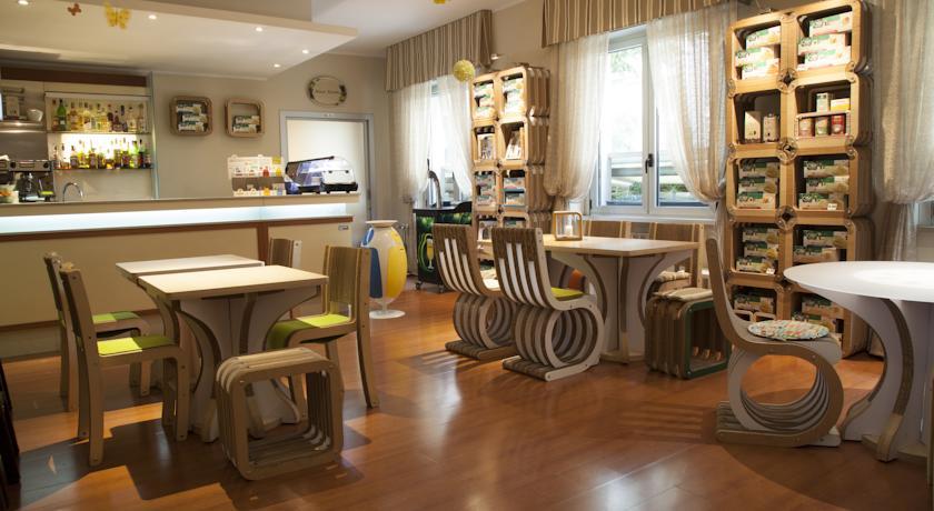 Bar van Eco-Hotel La Residenza in Milaan