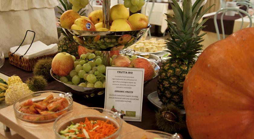 Ontbijtbuffet van Eco-Hotel La Residenza in Milaan