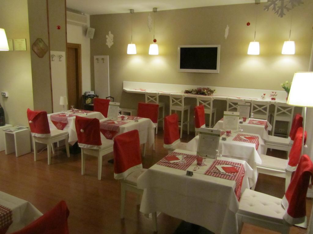 Ontbijtzaal van Eco-Hotel La Residenza in Milaan