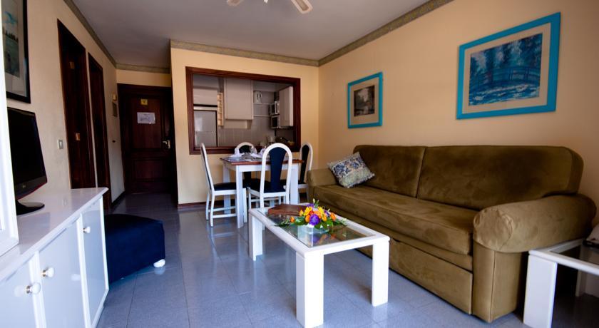 Kamer van een appartement van Appartementen Vigilia Park Tenerife