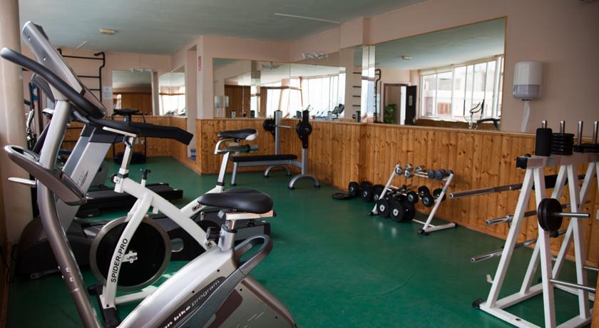 Fitnessruimte van Appartementen Vigilia Park Tenerife